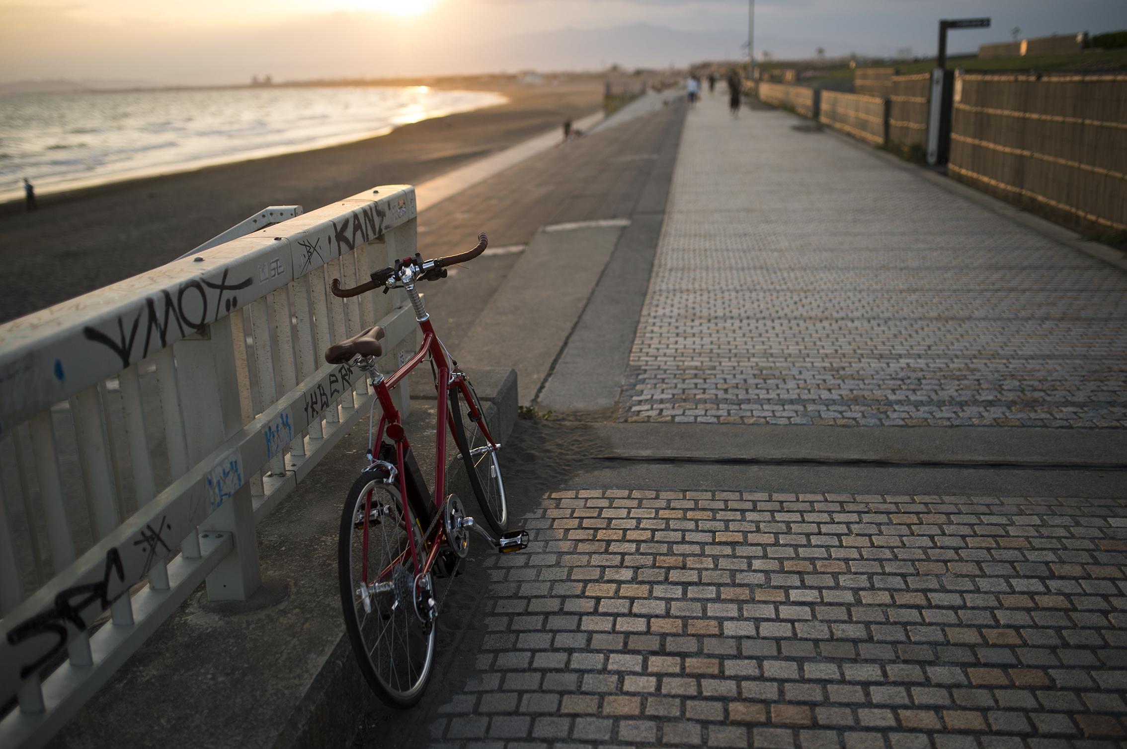 自転車からの風景