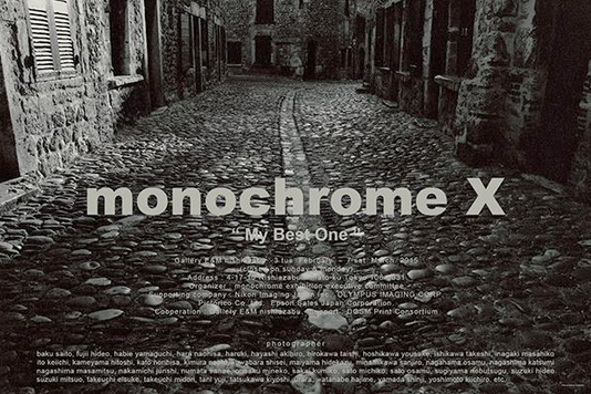 "monochrome X ""my Best One"""
