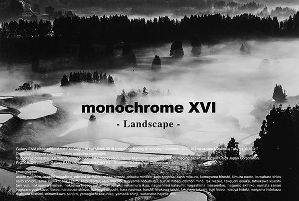 monochrome XVI「Landscape」