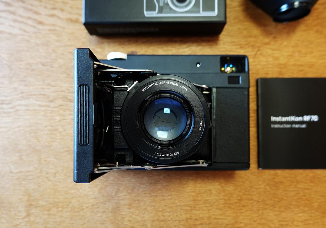 インスタントカメラ/Instantkon RF70蛇腹式