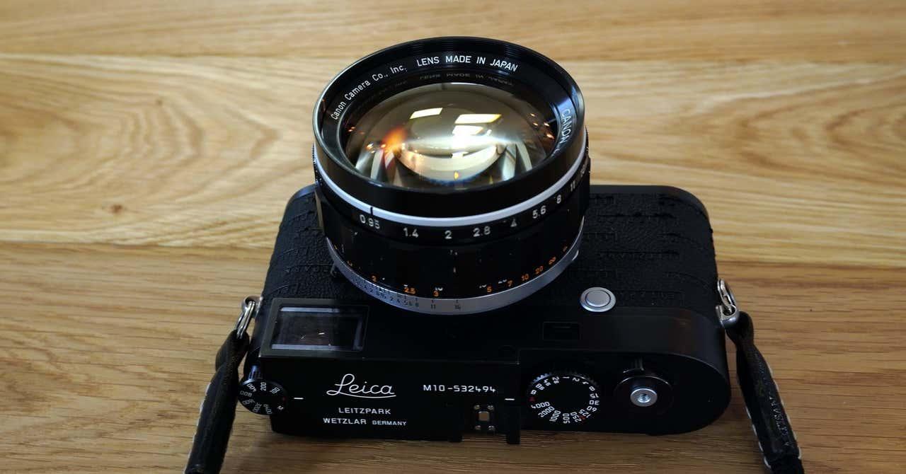 Canon Lens 50mm F0.95 (M改)